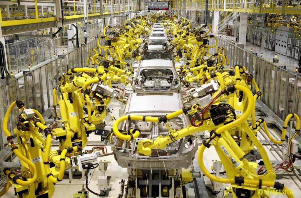 Индустриальные роботы