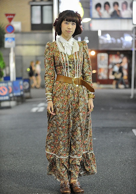Мода японских улиц.