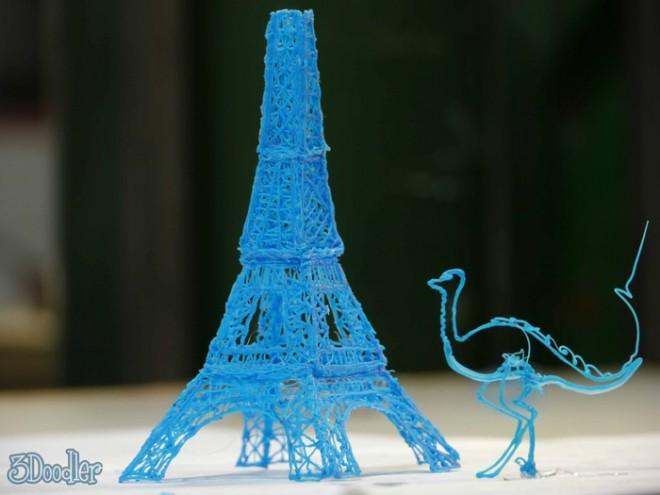 3Doodler — ручной принтер для рисования пластиком!