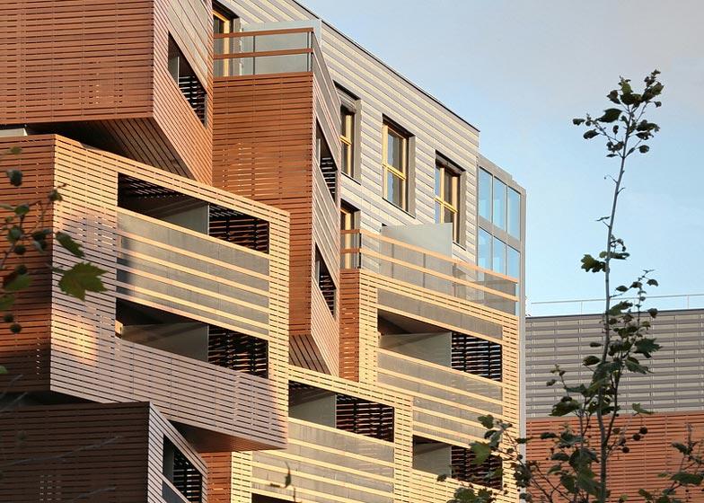 Архитектура XXI века. Квартиры-корзинки от OFIS Arhitekti